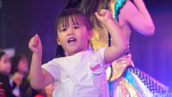 Seru! Puluhan Anak Nge-dance Bareng JKT48