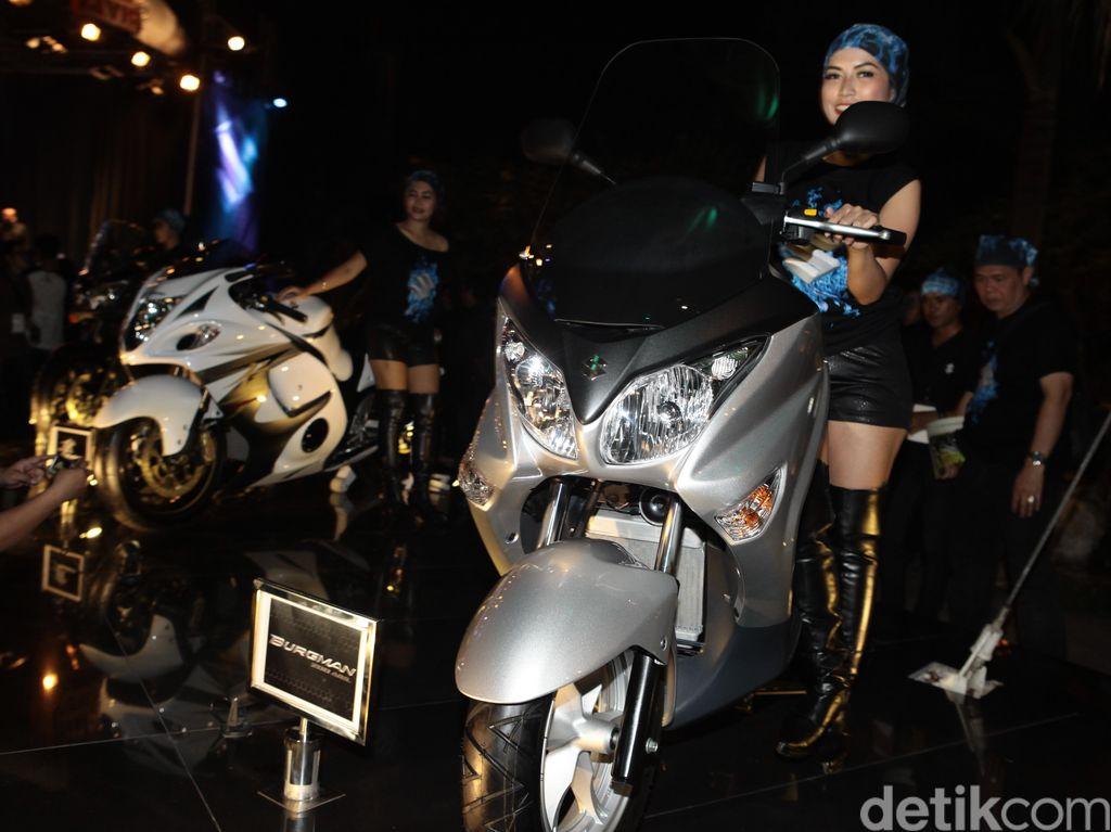 Dalam Waktu Dekat Ada Motor Suzuki Pesaing NMAX dan PCX