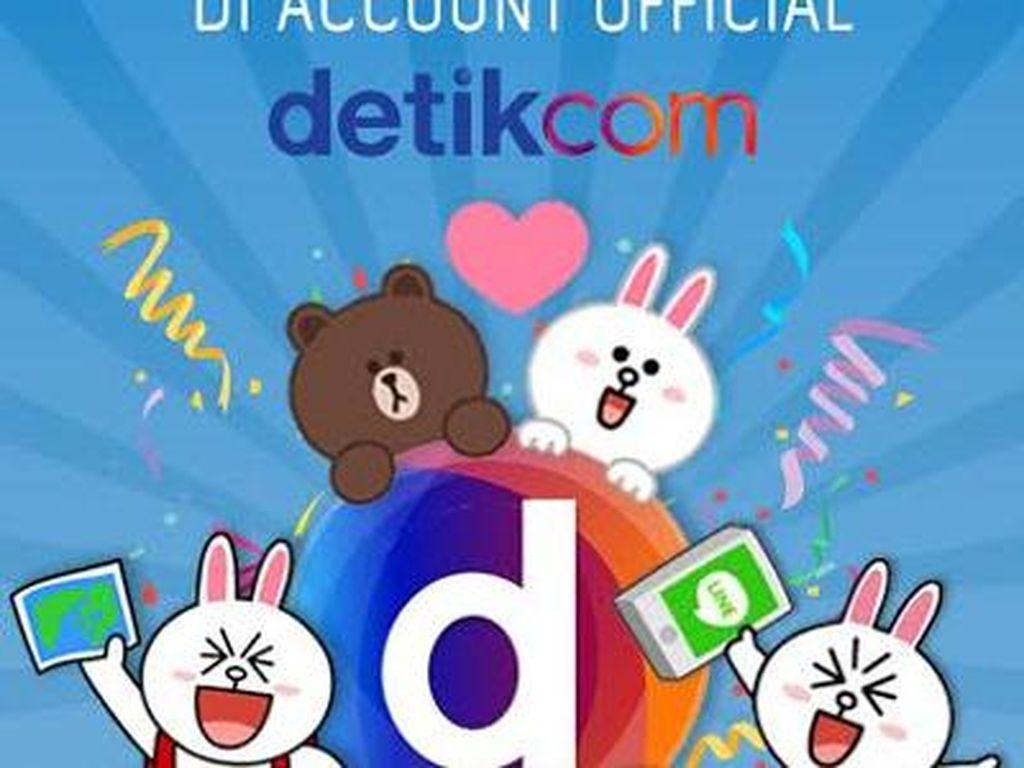 Makin Update, @detikcom Kini Mejeng di Line