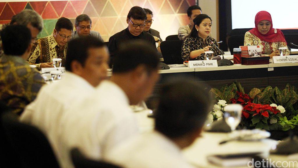 Menko Puan dan Sejumlah Menteri Rapat Bahas Gafatar