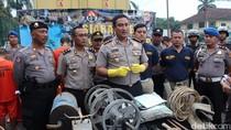 Polres Bogor Tangkap 9 Penambang Emas Ilegal di Area Milik PT Antam