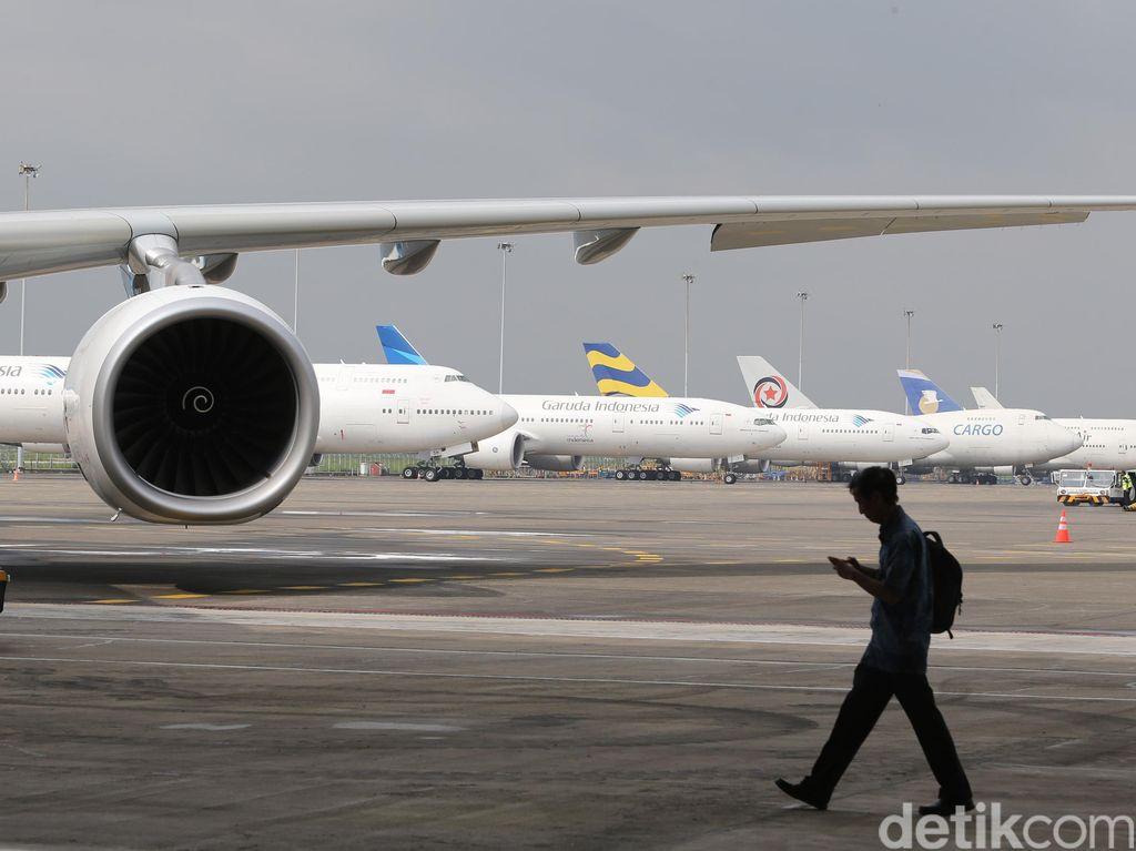 Manajemen Garuda dan Auditornya Pagi Ini Menghadap BEI