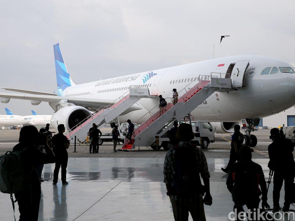 Garuda Group Turunkan Tiket Pesawat 20%