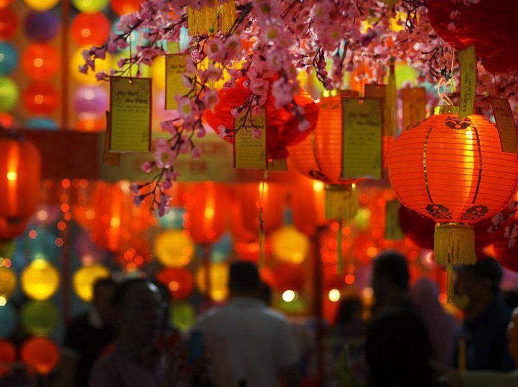 Saking Antusias Sambut Imlek, Chinatown Ini Malah Typo