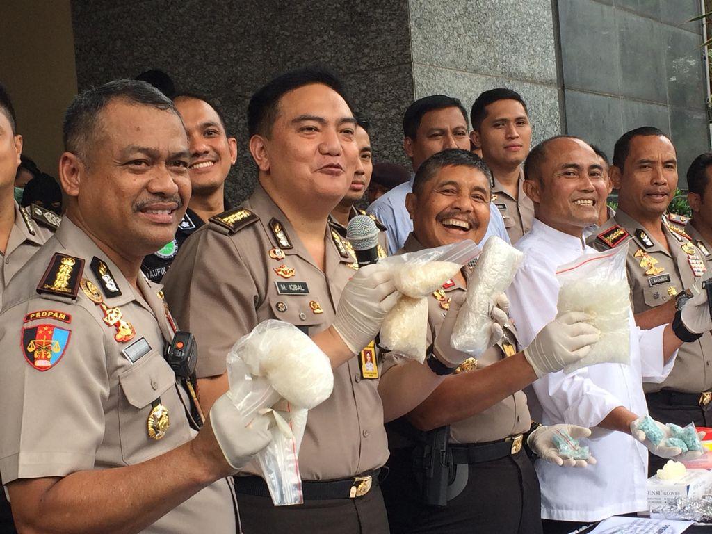 Operasi di Kampung Narkoba di Jakarta, Polisi Ringkus 135 Pelaku