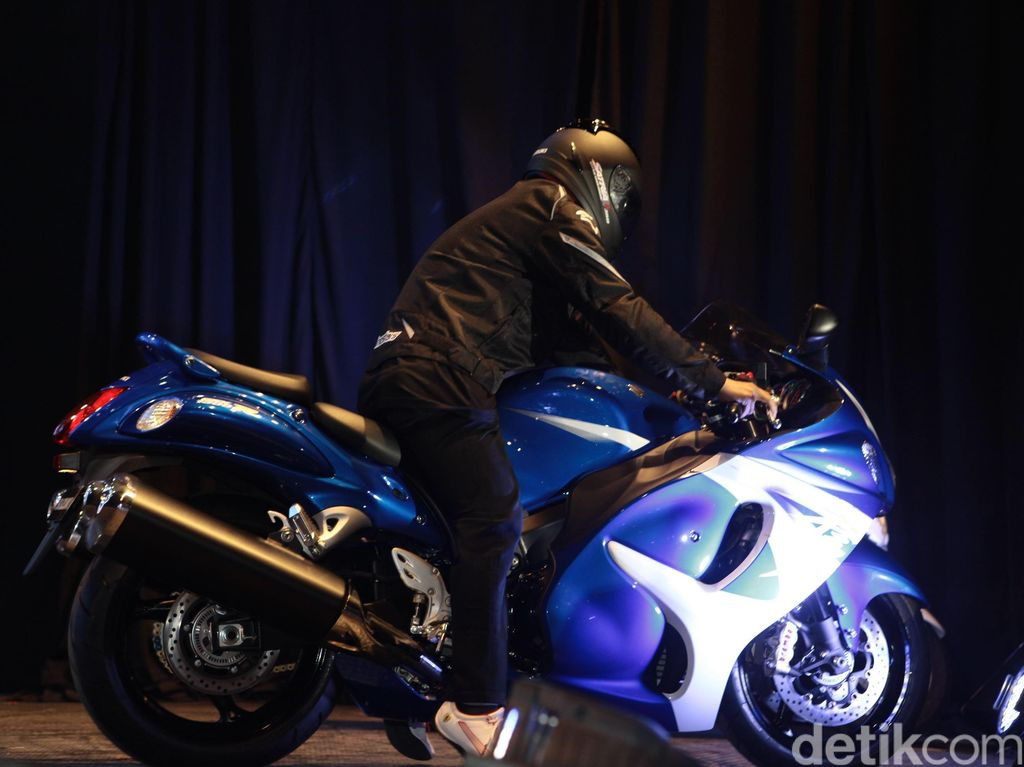 Siap-siap Kecewa, Suzuki Takkan Rombak Hayabusa