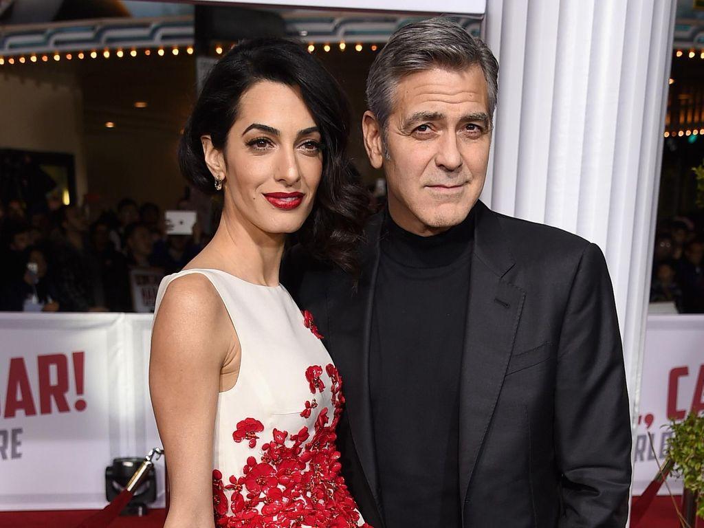 Congrats! George Clooney dan Amal Alamuddin Dikaruniai Anak Kembar