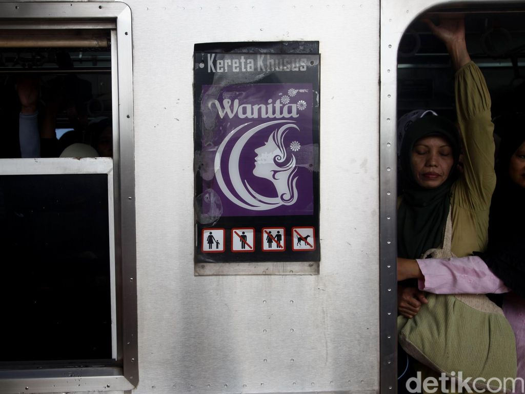 Penjelasan PT KCI Tak Tambah Kereta Khusus Wanita Tahun Ini