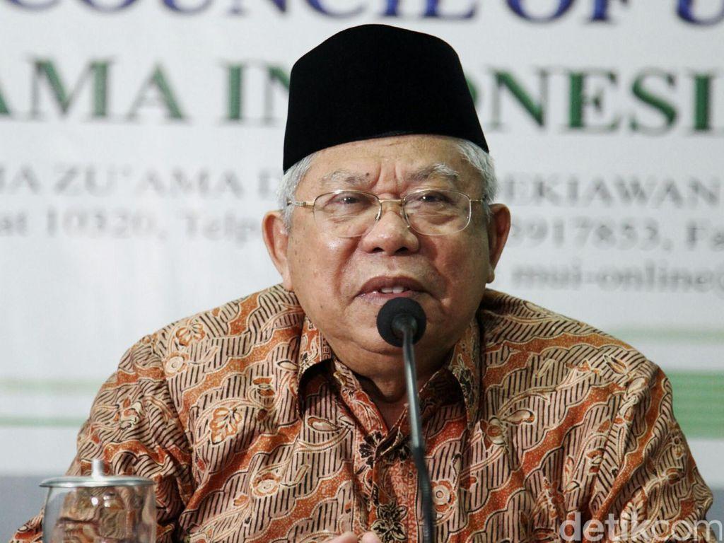 Maruf Amin Harap Gubernur Banten Terpilih Rangkul Lawan Politik