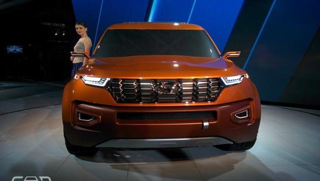 SUV Kompak Booming, Hyundai Pamerkan Konsep HND-14