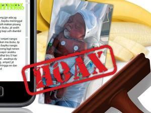 Foto Bayi Usia 1 Bulan Meninggal karena Diberi Makan Pisang
