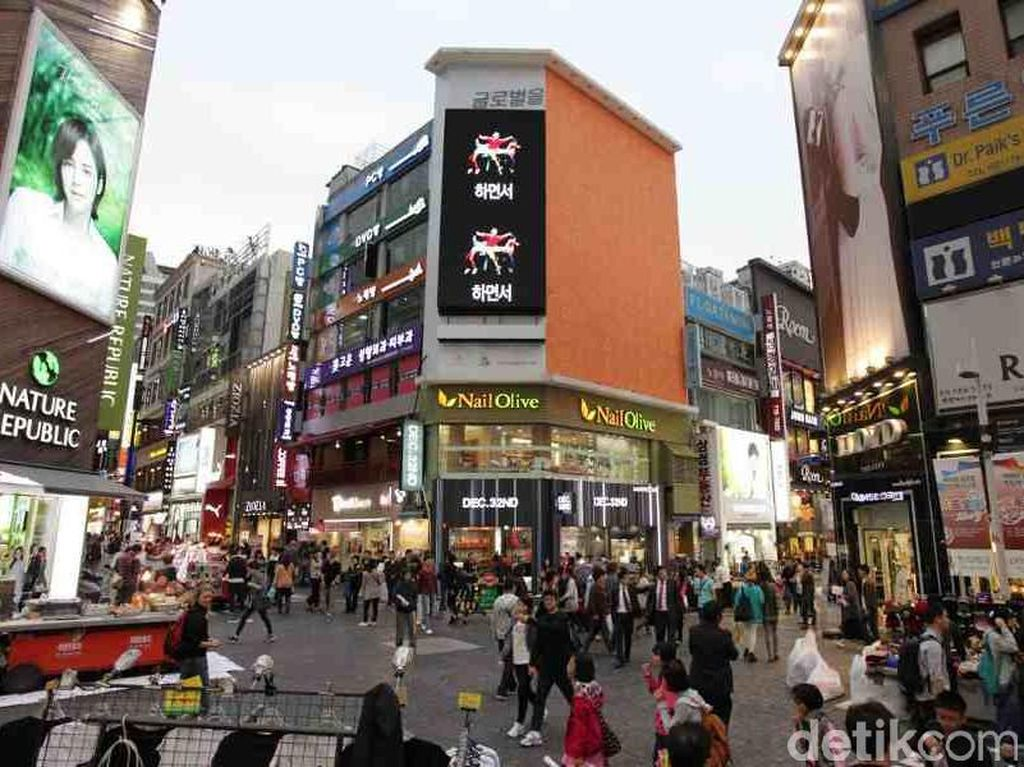 Mengenal Myeongdong di Korea yang Heboh Ada Logo Halal MUI