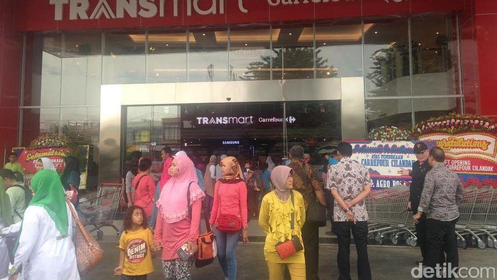 30 Gerai Baru Transmart Buka Tahun Ini, 15 di Indonesia Timur