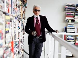 Intip Perpustakaan Ikonik Karl Lagerfeld