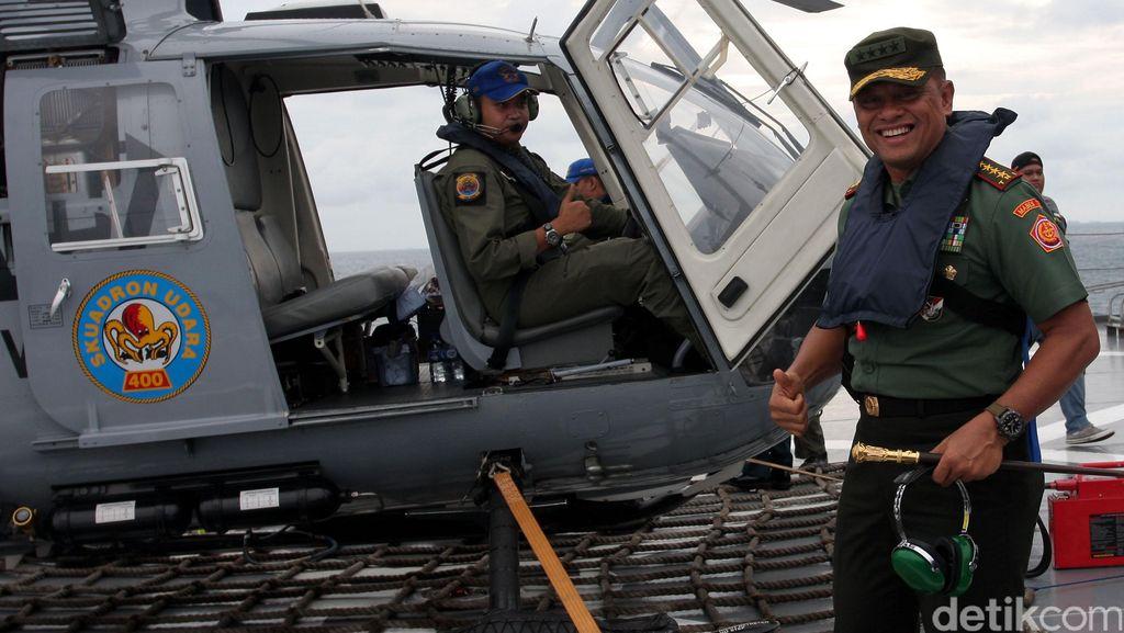 Panglima TNI Hadiri Kegiatan Hari Pers Nasional