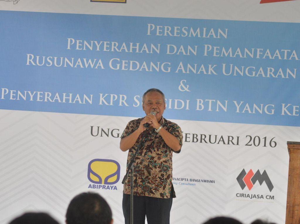 Resmikan Rusun, Menteri Basuki: Semangatnya Sediakan Hunian Bagi Buruh