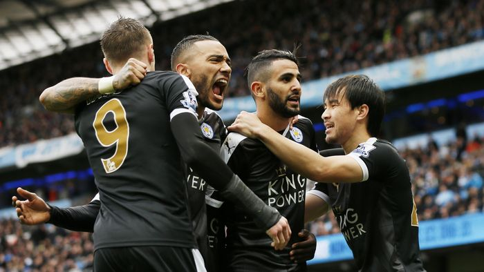 Football - Manchester City v Leicester City - Barclays Premier League - Etihad Stadium - 6/2/16