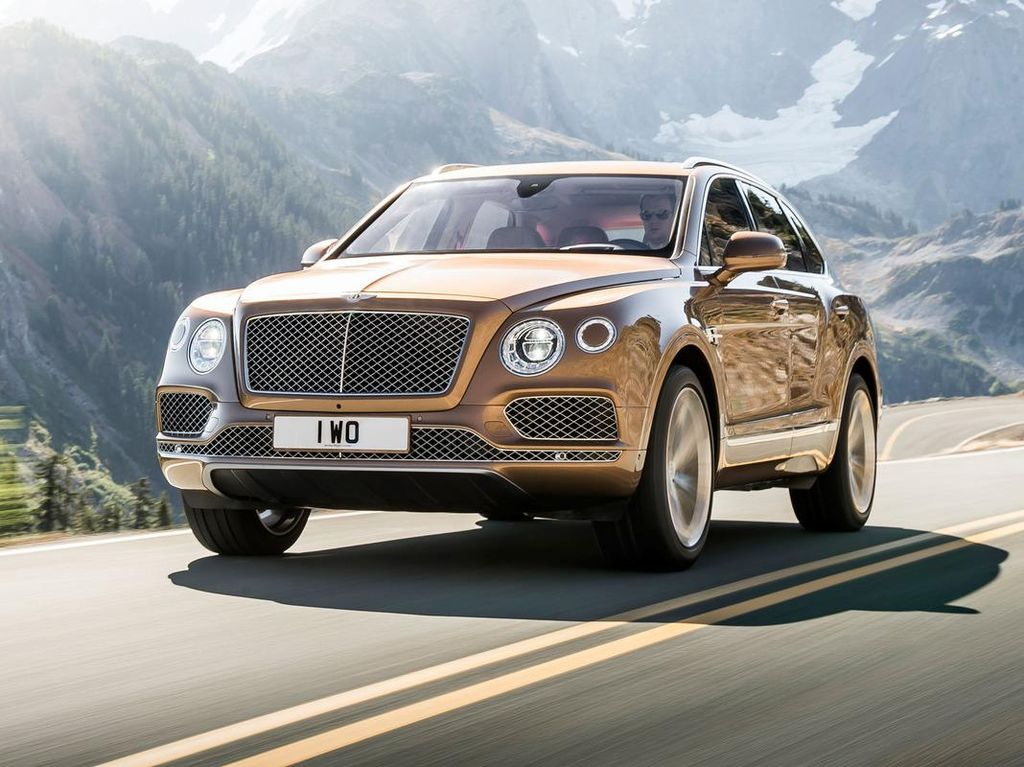 Berkat SUV Bentayga, Jualan Bentley Naik di 2016