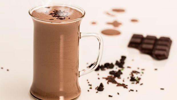 Ilustrasi Minuman Coklat Panas