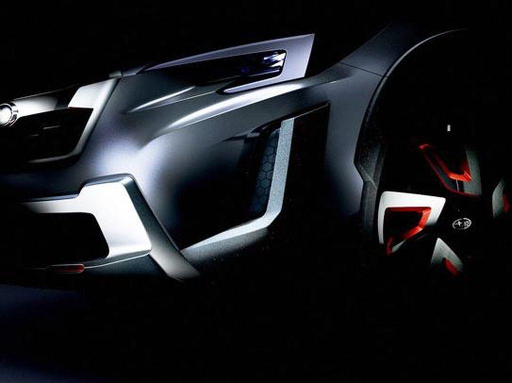 Subaru XV Crossover Siap Ganti Tampang