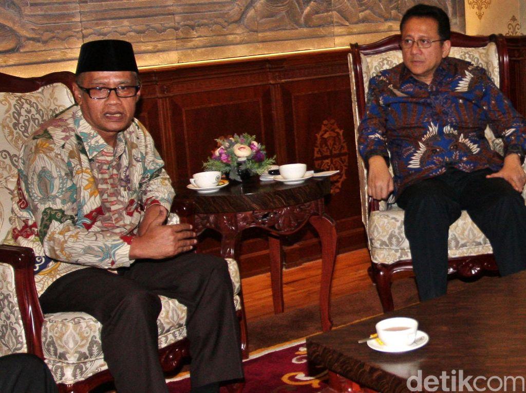 Ketum PP Muhammadiyah Temui Ketua DPD