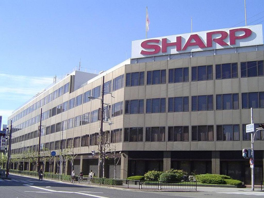 Sharp Habiskan Rp 7,4 Triliun untuk Produksi Panel OLED