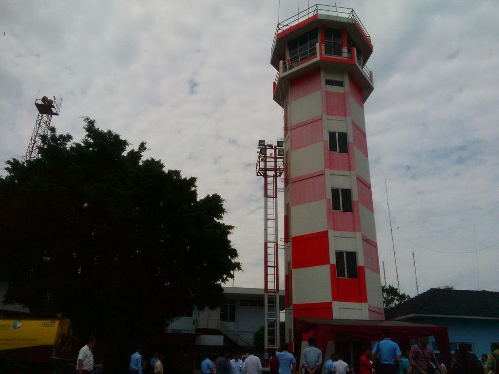 AirNav Segera Bangun Tower ATC Permanen di Bandara Palu