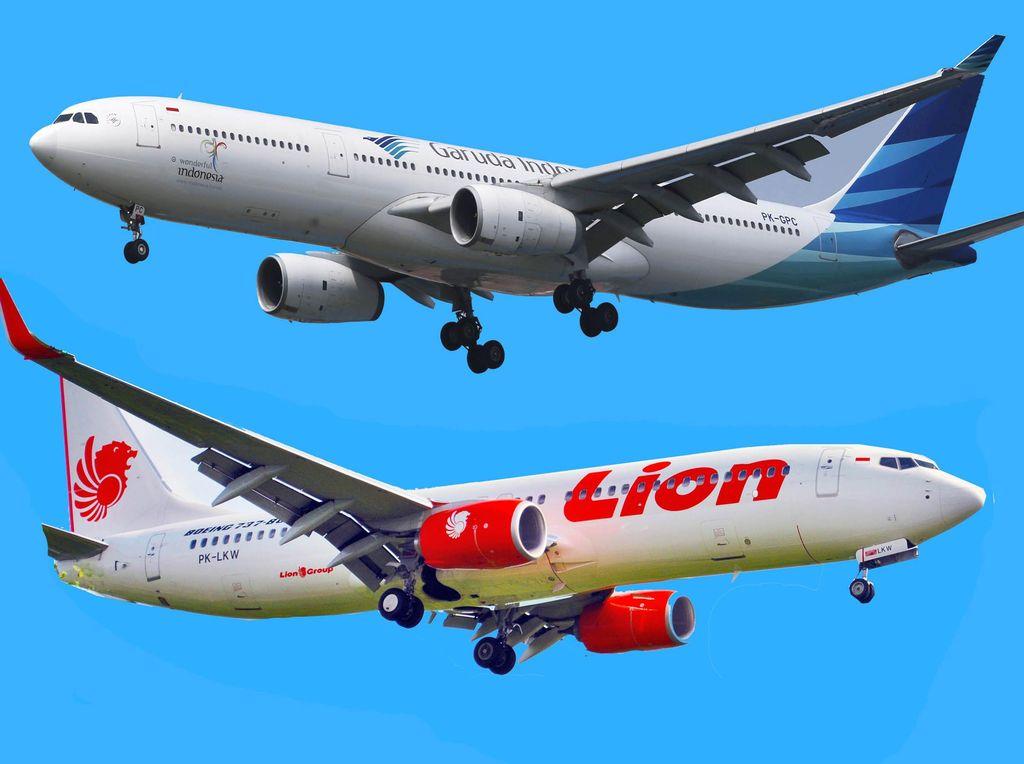 Penjelasan Lengkap Garuda-Lion Air Gagal Mendarat di Pontianak