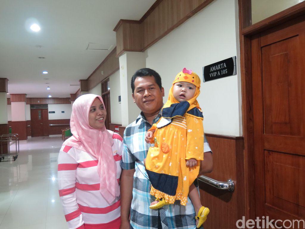 Adelia, Balita Pasien Cangkok Hati Pertama di RSUP Dr Sardjito