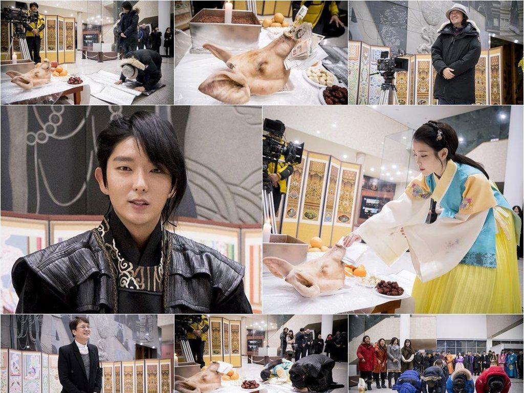 Intip Gaya IU, Baekhyun dan Lee Jun Ki Cs di Poster Scarlet Heart: Goryeo