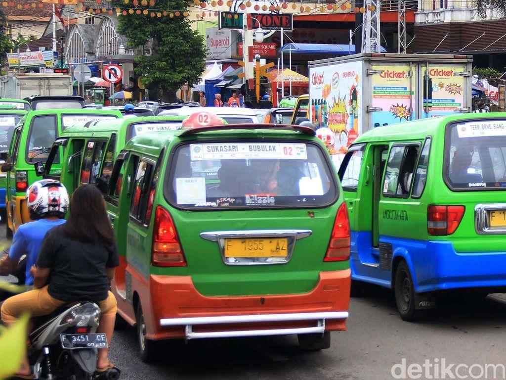 Atur Angkutan Umum, Bogor Bakal Terapkan Skema Buy The Service