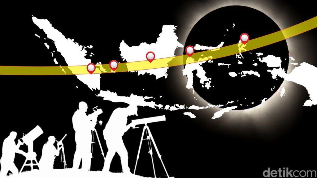 5 Hal yang Perlu Diperhatikan Untuk Mengabadikan Gerhana Matahari Total