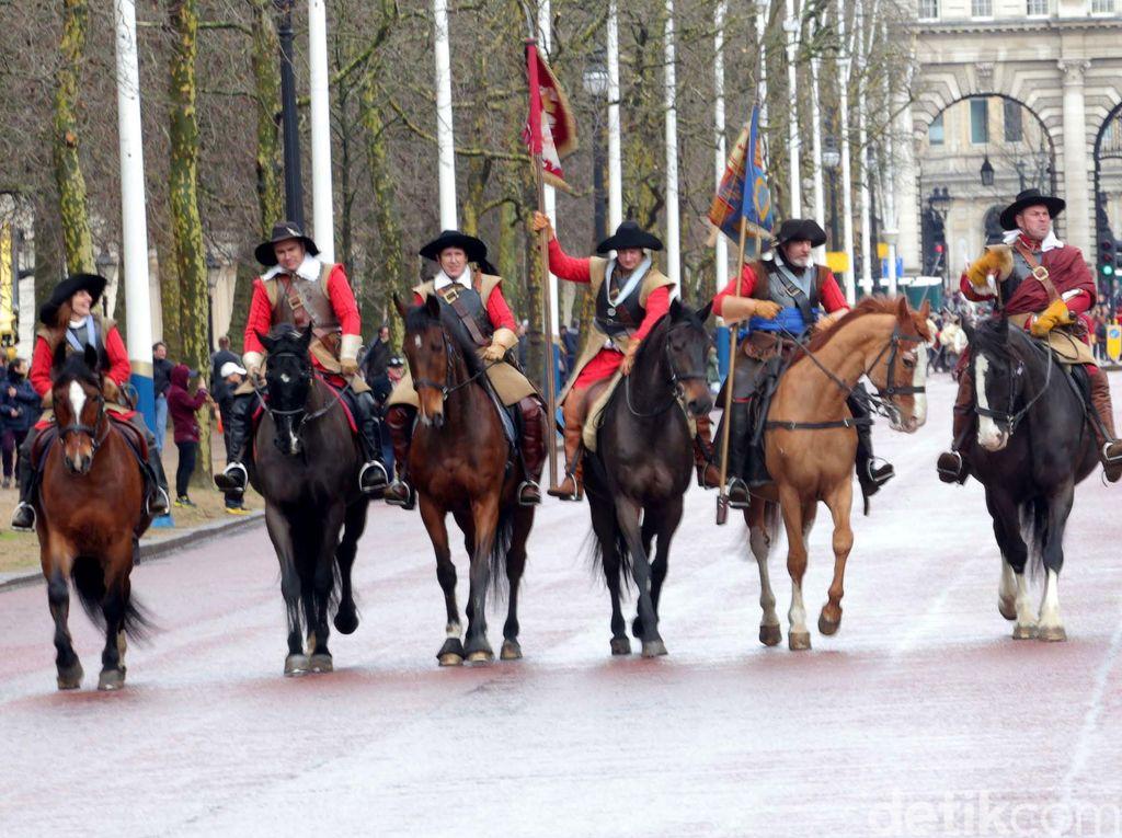 Parade Komunitas Perang Sipil Inggris