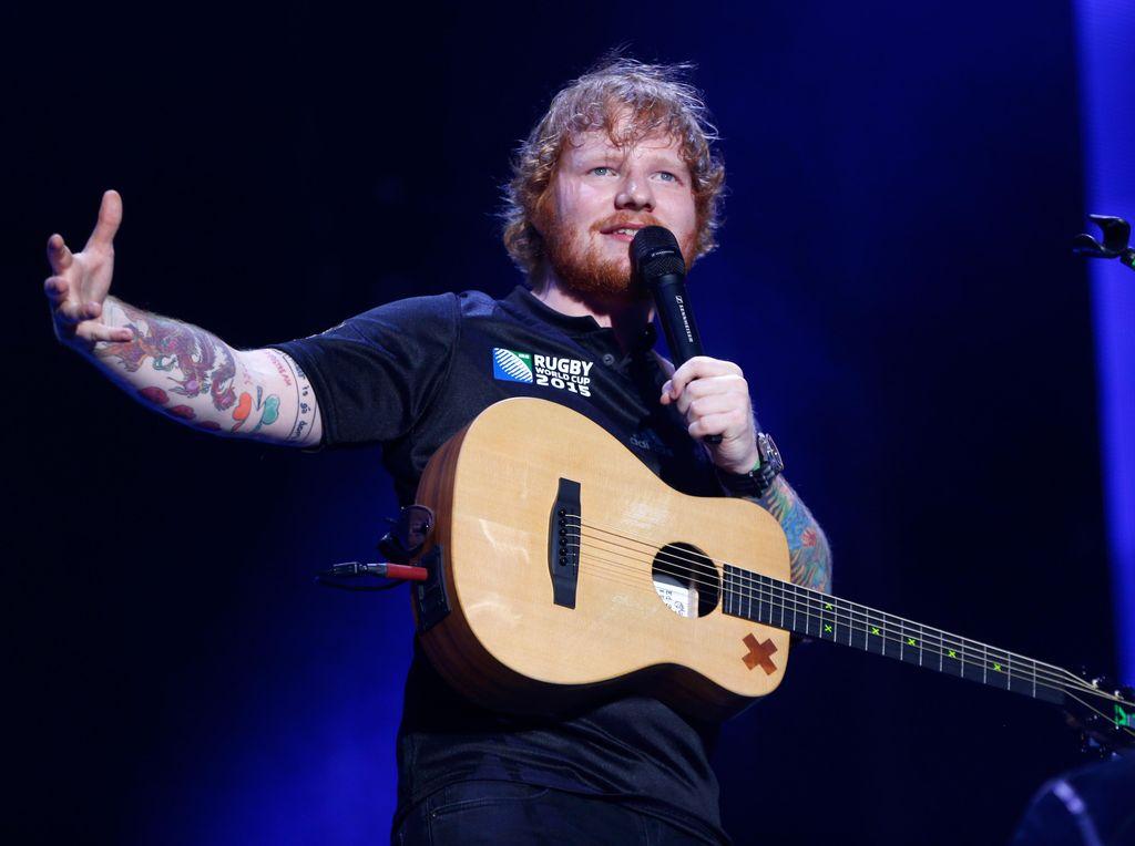 Konser Malam Ini, Ed Sheeran Bawakan Lagu Apa Saja?