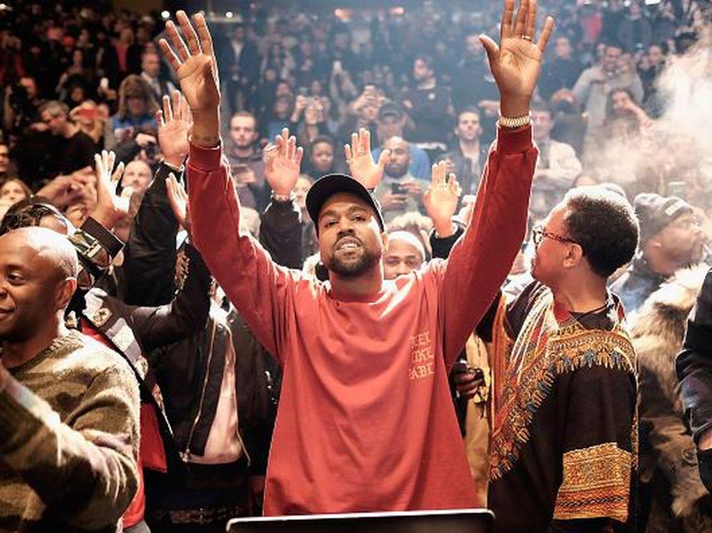 Mau Nyapres dan Berharta Rp 47 T, Kanye West Dapat Bantuan dari Trump