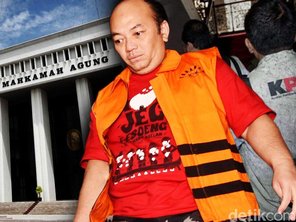 Dipanggil KPK di Kasus Suap Pejabat MA, Ketum DPP Peradi Absen