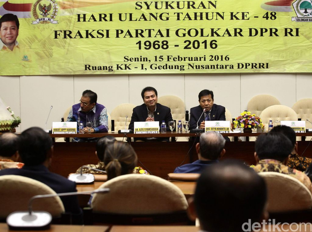 Golkar Tunjuk Robert Kardinal Jadi Ketua Fraksi di DPR