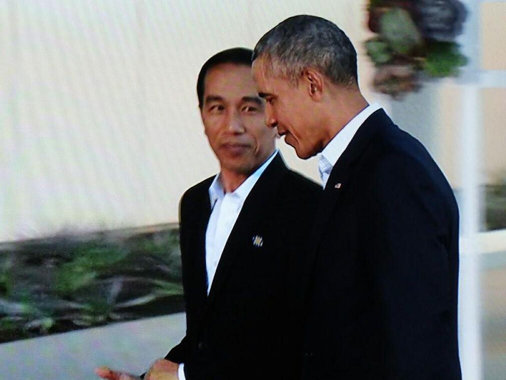 Di Depan Pemimpin ASEAN dan Obama, Jokowi Minta Konflik Palestina Diselesaikan
