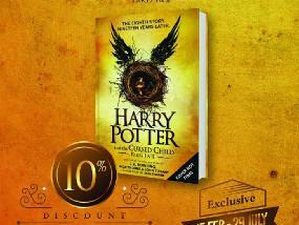 Pre-Order Harry Potter and The Cursed Child di Indonesia Sudah Dibuka!
