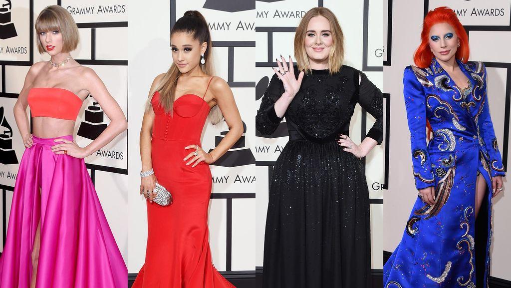 Parade Selebriti di Red Carpet Grammy Awards 2016 (1)