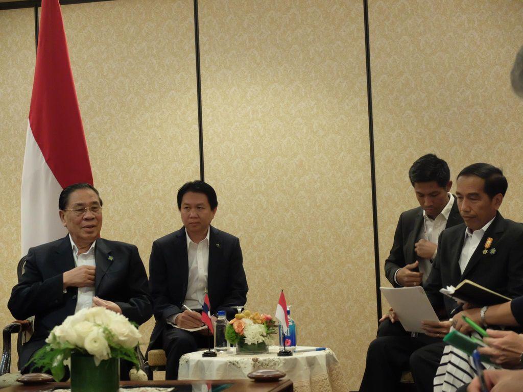 Presiden Jokowi Gelar Pertemuan Bilateral dengan Presiden Laos Bahas ASEAN
