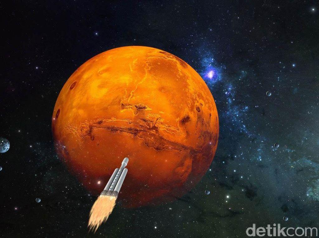 NASA: Alien Mungkin Hidup di Gua Rahasia Mars