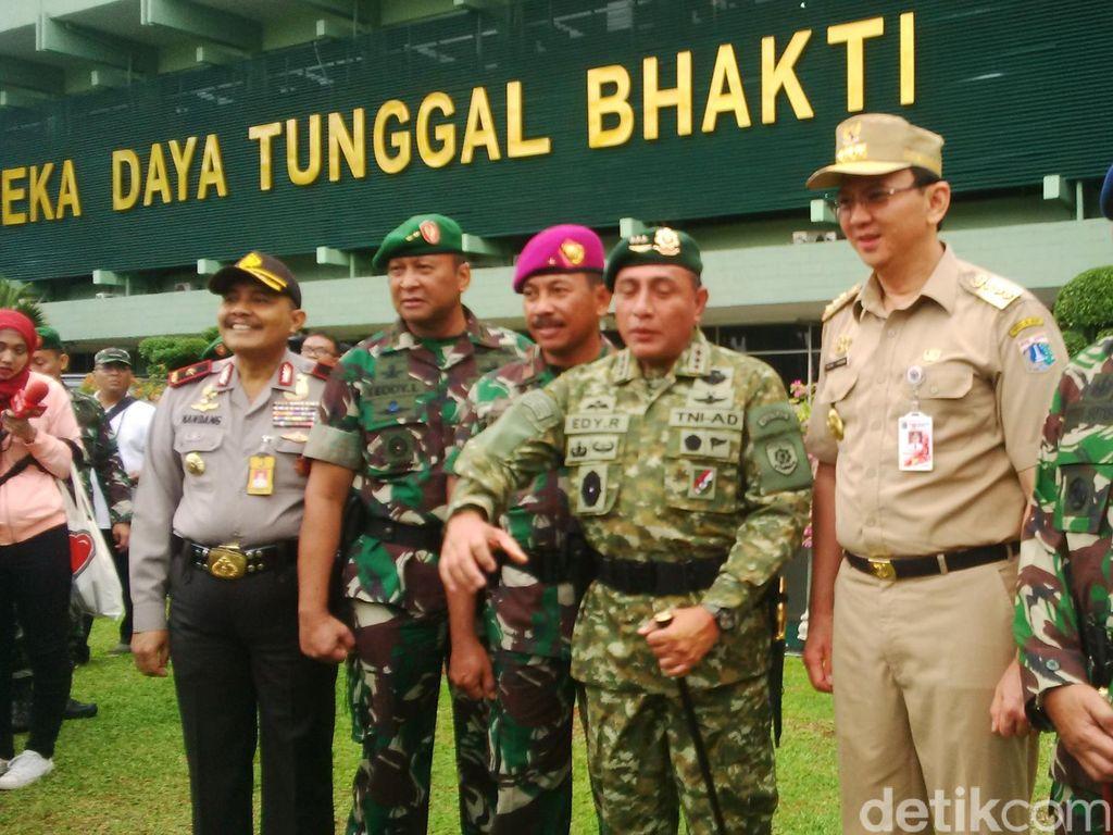 Pangdam Jaya Dukung Pemda DKI Tertibkan Kawasan Berlan