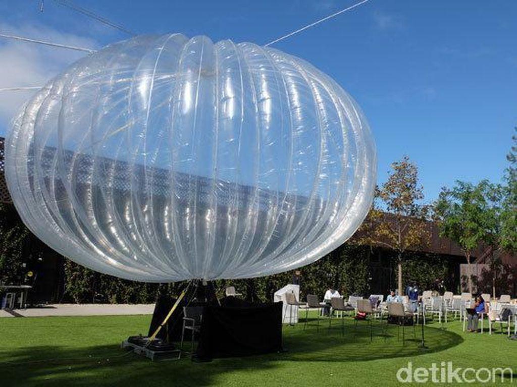 Disambangi Jokowi, Google Siap Terbangkan Balon Raksasa