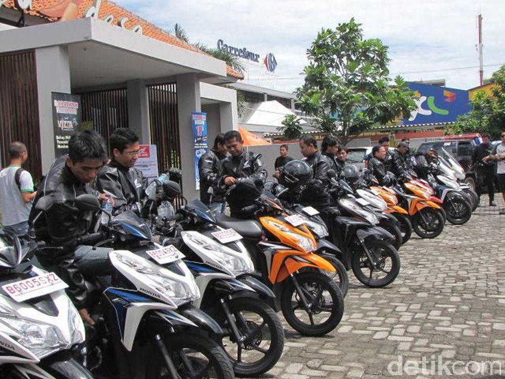 Honda Vario Ngelos di Tarikan Awal