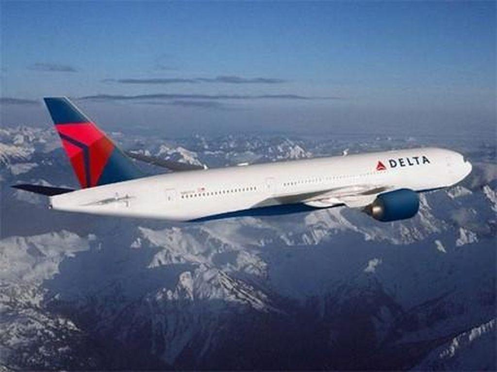 Delta Jadi Maskapai AS Pertama yang Terbang Lagi ke China