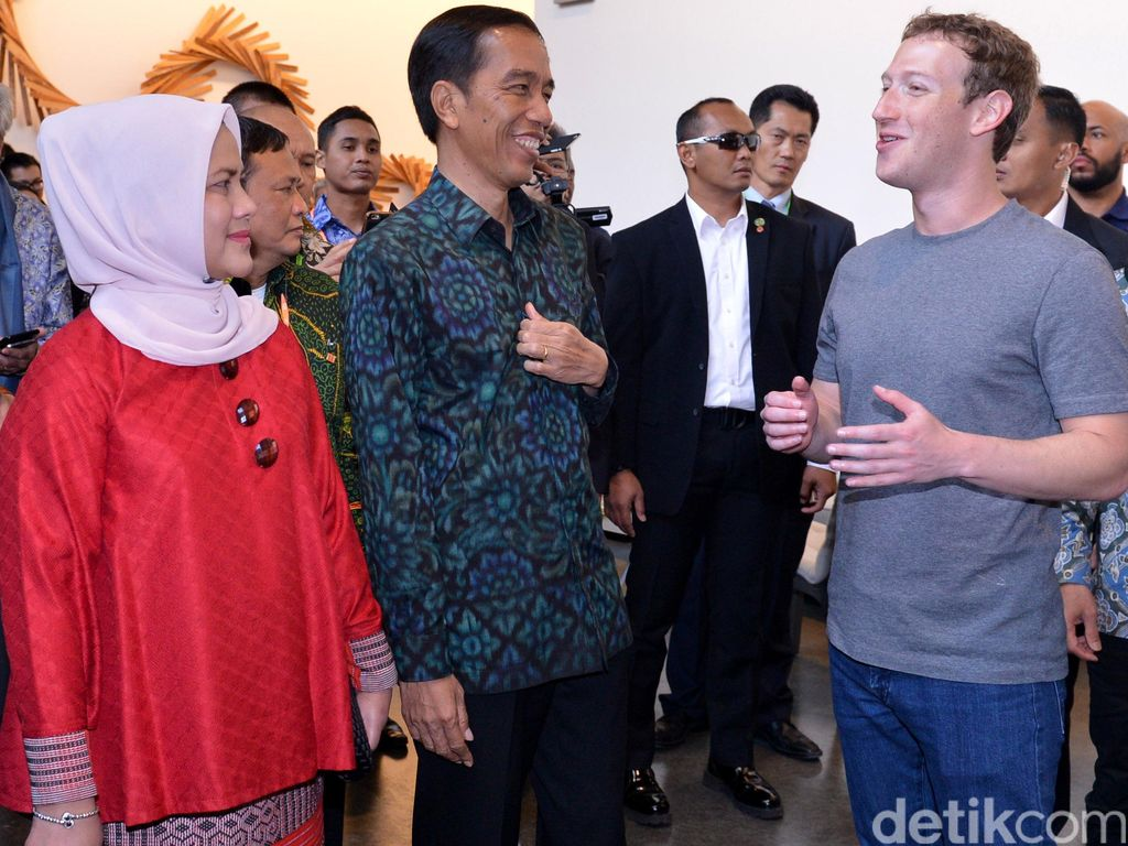 Jokowi Kunjungi Markas Facebook