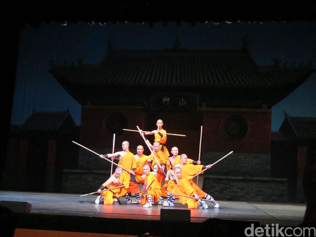 Bersiaplah! Pertunjukan Spektakuler Shaolin Warriors Dibuka Besok Malam