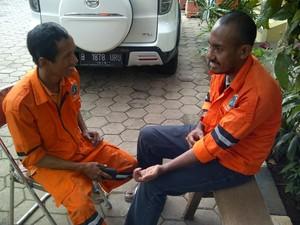 Pasukan Oranye Tak Boleh Malas dan Harus Siaga Saat Hujan Turun di Jakarta