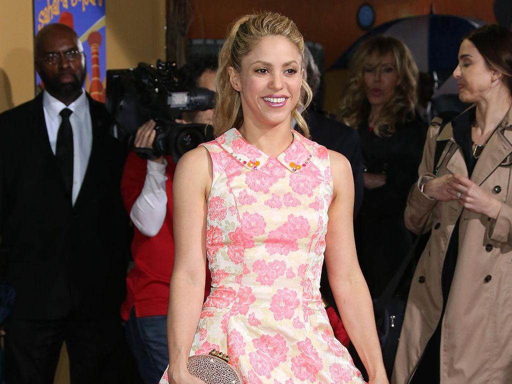 Shakira dan Gerard Pique Serius Saksikan Konser Lady Gaga